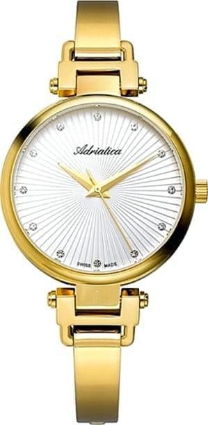 Женские часы Adriatica A3176.2115QZ Мужские часы Romanson TL5140HMW(BK)