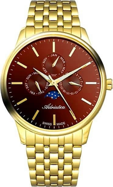 Часы Adriatica A8262.R117QF Часы Romanson TL1243MW(WH)BK